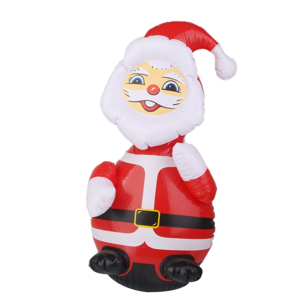 Buy 240cm Inflatable Santa Claus LED Christmas decorations Outdoor ...