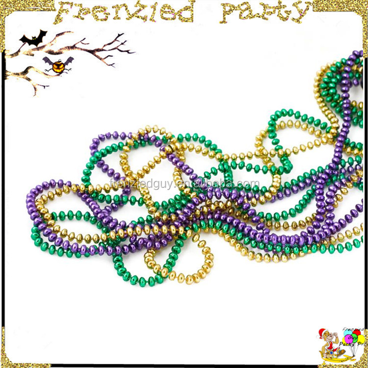 traditional mardi gras colors are mardi gras beads FGMG-0110