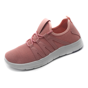 2018 Hot sale PVC injection flyknit sports shoes