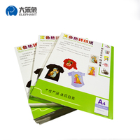 A3A4 laser/inkjet heat transfer paper for dark/light r-shirt for printer