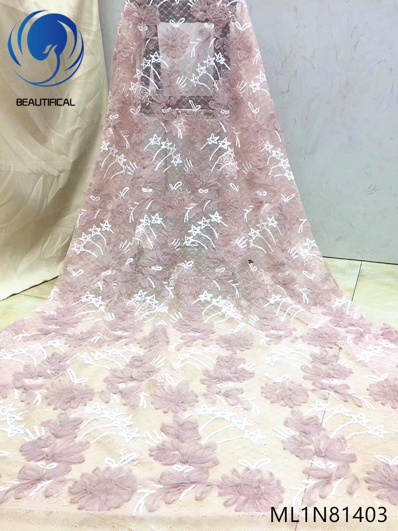 Beautifical embroidery wax fabric latest wax lace ankara guipure ML8C236-ML8C252