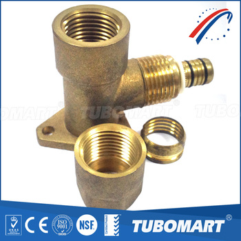 Easy Installation CW617N pipe connector / plumbing screw fitting for water system