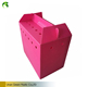 A full-service Manufacture PP Corrugated Folding Crate Plastic Pet Carrier Box