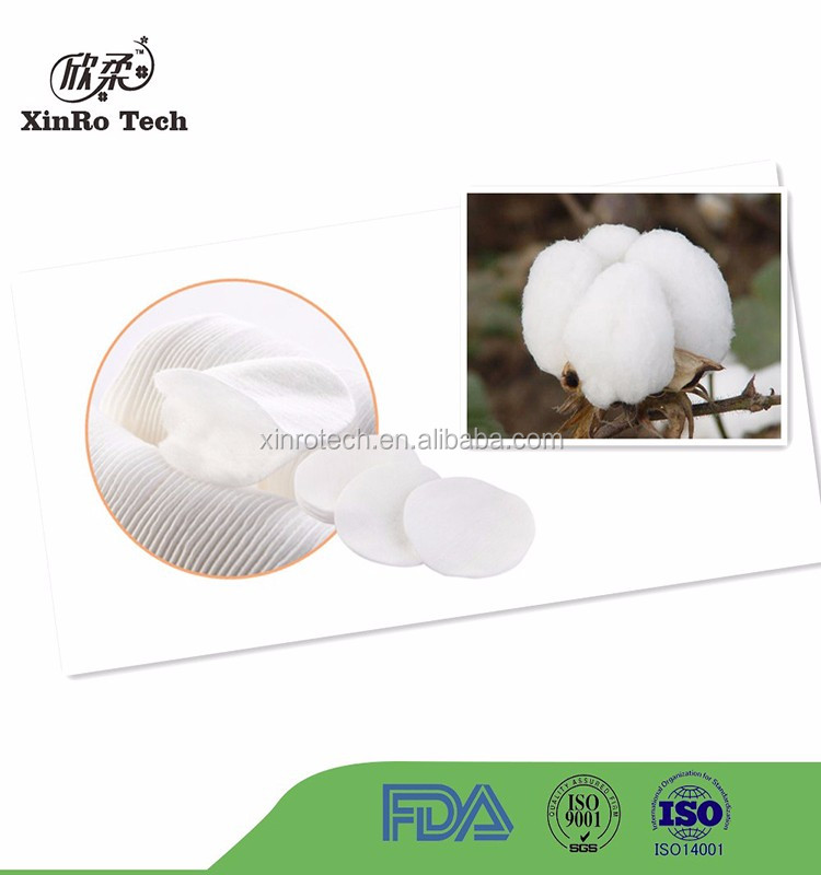 Fabric Dry/Wet Dual-Use White Soft Nonwoven Cotton Tissue