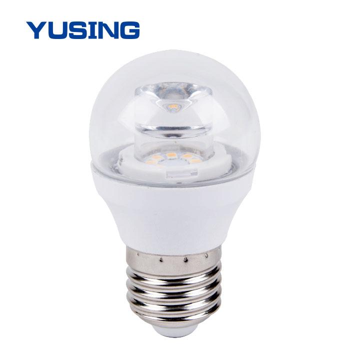 Cool White 6000K G45 LED Light Bulb For Home 3W LED Bulb 3W