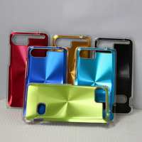 CD grain case, aluminum phone cover, protective mobile cases for HTC HO