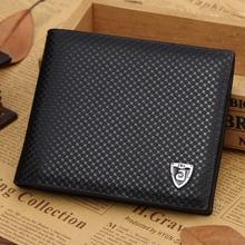 Luxusná priestorná čierna pánska peňaženka z Aliexpress