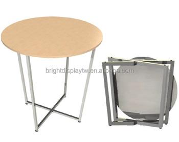Tavoli Pieghevoli Per Stand.Facile Da Assemblare Giocattoli Di Legno Superiore Del Display