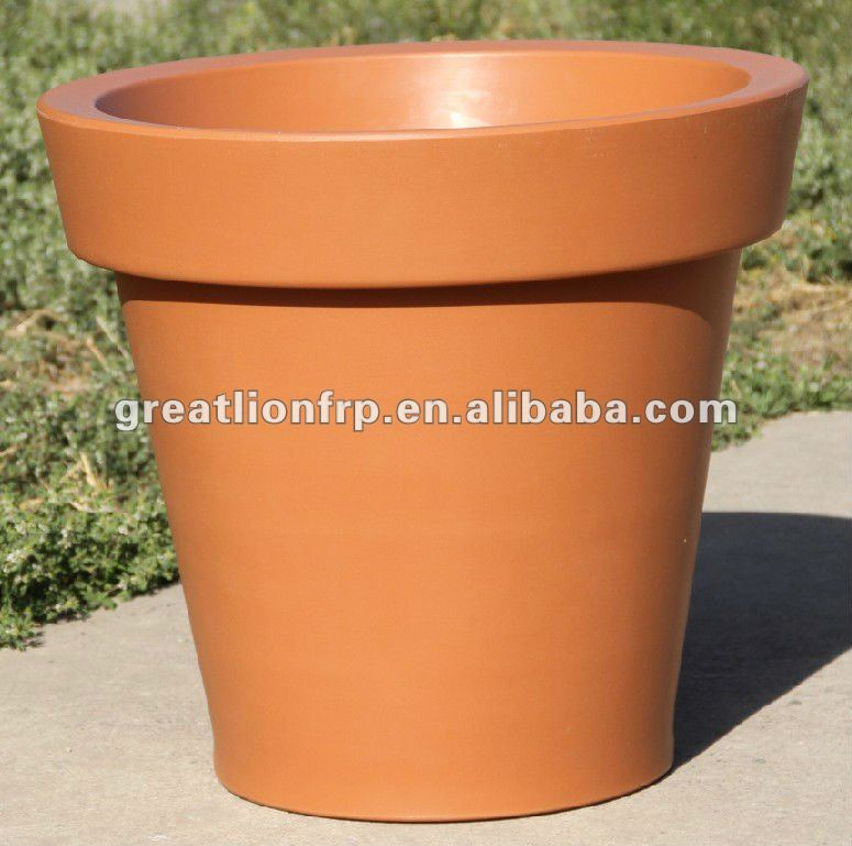 gr02116 xxl big plastique planteur pot ext rieur grande plastique pot planteur pots fleurs. Black Bedroom Furniture Sets. Home Design Ideas
