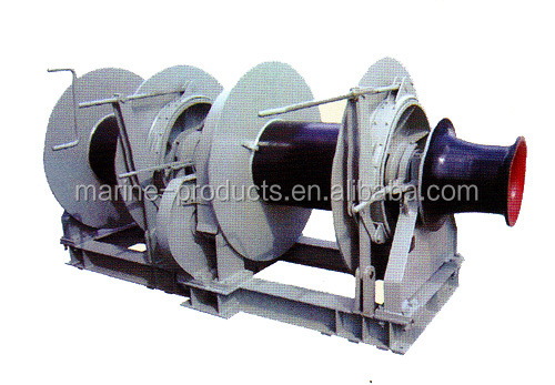 High quality Hydraulic double-drum (multi-drum) mooring anchor capstan winch for sale
