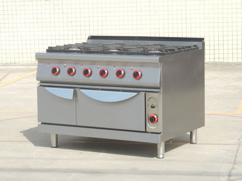Catering Kitchen 2 Burners Stainless Steel Commercial Gas Range ...