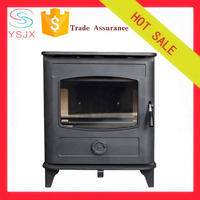 high efficiency cast iron smokeless wood burning stove