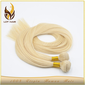 OEM acceptable wholesale blonde human hair virgin remy hair 30 inch hair extensions