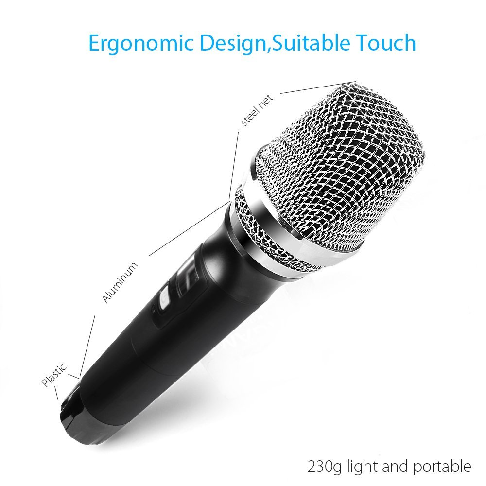 MAONO wireless microphone 48 channels UHF wireless handheld bus microphone
