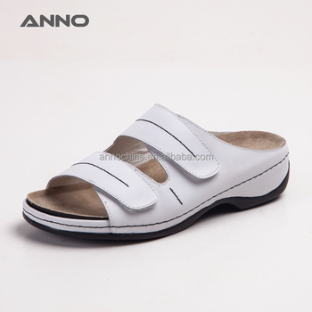 Anno comfortable nursing shoes leather sandals sandal