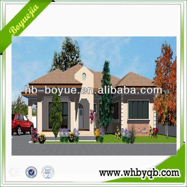 Beautuful Prefab container house villa / Villa house design with eps cement sandwich wall panel