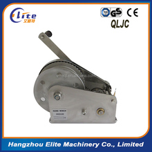 High- quality 1200lbs Hand Winch with Brake