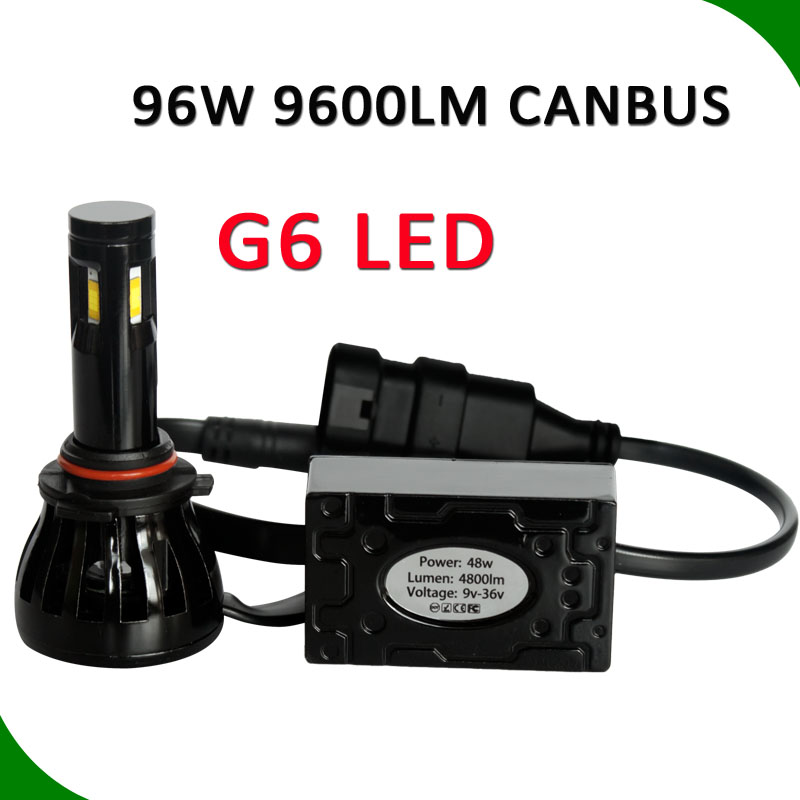 Auto spare parts hid xenon replacement High power G6 G5 cob resistor built-in auto led head light car head lamp h4 h7