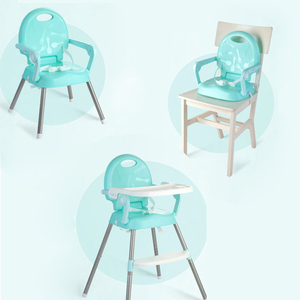 High Chair For Kids Portable Baby Seat Baby Dinner Table Adjustable Folding Chairs For Children Feeding Chairs