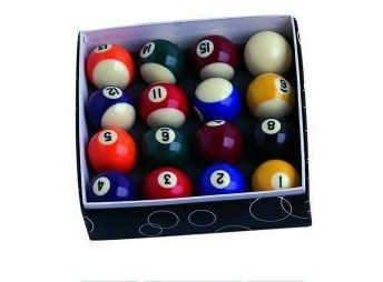 Manufacture A Grate Quality Spots & Stripes Cheap Pool Ball Billiard Ball