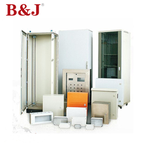 B&J Wholesale Customized Outdoor Electric Stainless Steel Metal Meter Box