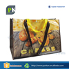 Hot selling customise fashion bulk reusable pp woven shopping bag