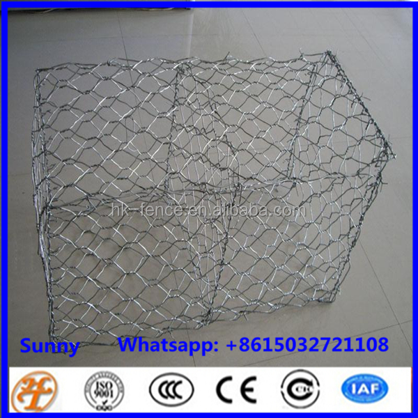Hexagonal Pvc Coated Galvanized Gabion Wire Mesh Box For Sale Stone Gabion Basket Containment Prices Canton Quality-MP