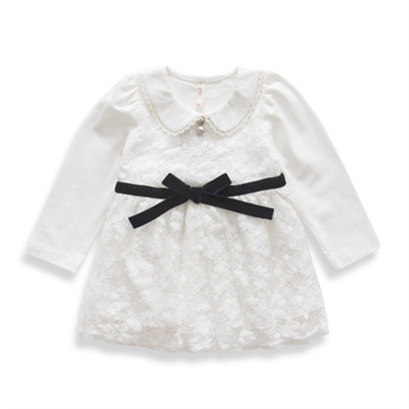 Buy Autumn Girls Christmas Dress Party Cotton Lace Inant Newborn ...