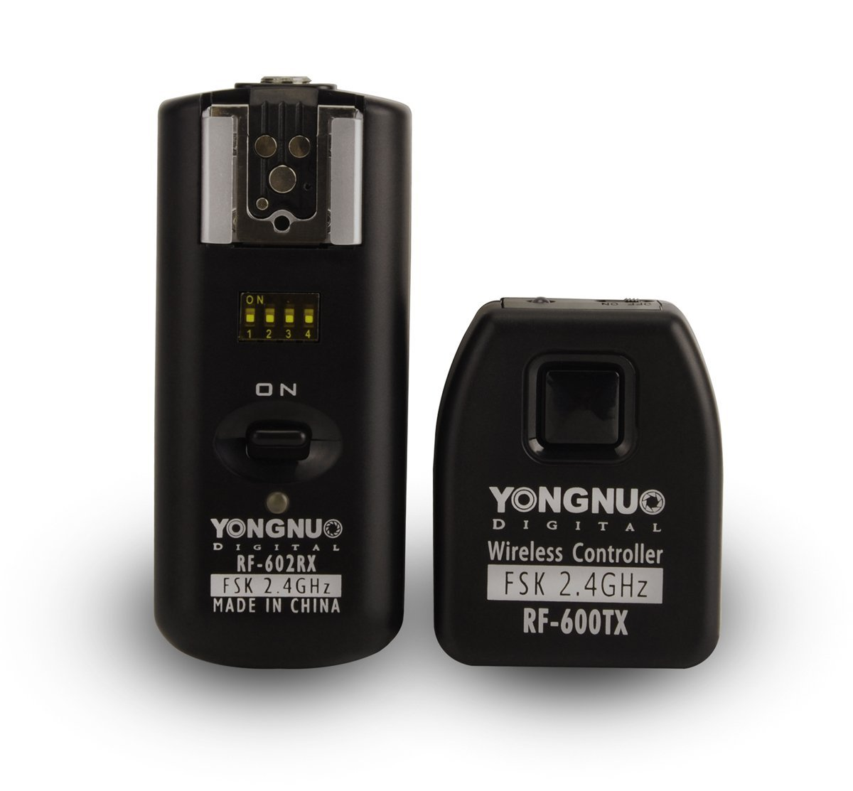 YONGNUO RF-602/N 2.4GHz Wireless Remote Flash Synchronized Trigger Remote Control for Nikon SB-900, SB-800, SB-600, SB-28, SB-27, SB-26, SB-25, SB-24 Cameras