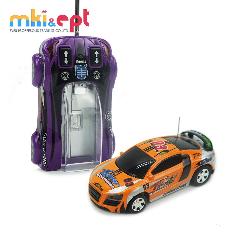 Kinderfahrzeuge Multicolor Coke Car Mini Speed RC Radio Remote Control Micro Racing Car Toy kW