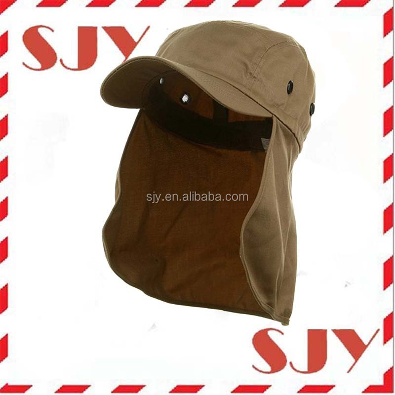 Custom Fishing Cap with Ear and Neck Flap Cover