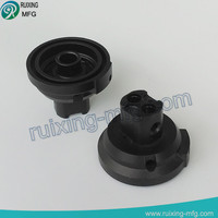 anodized aluminum communication adapter of cnc parts