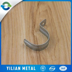 Customized Iron Steel Pipe Line Up Camps Malleable Iron Pipe Clamps Decorative Pipe Clamp