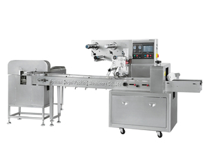 Full Stainless steel 304 Sami- auto packaging film bag sealing flow packing machine Model BG-250 350