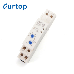 OURTOP 6 Functions 3 Or 4 Wire Connection Electrical Programmable Timer Device
