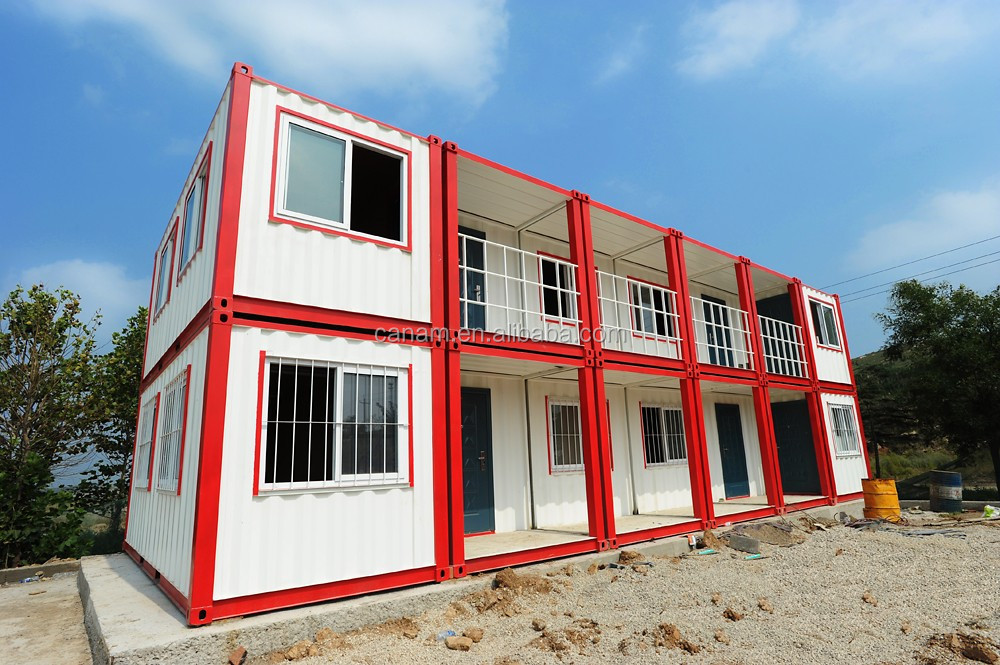 alibaba portable cars type 20 feet container house labor camp