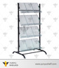 most popular four layers metal magazine display rack