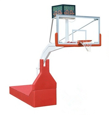 Standard foldable Gymnasium competition basketball stand set