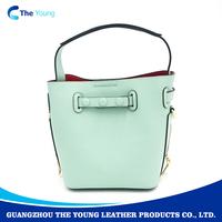 Name brand wholesale 100% real leather handbags cheap handbags