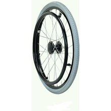 24 inch pu solid wheelchair wheels spoke wheels for rolling chair wheel chair