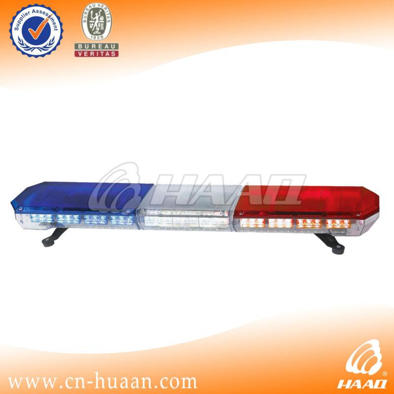 12v Led Security Car Roof Top Light Bar Police Lights Red Blue ...