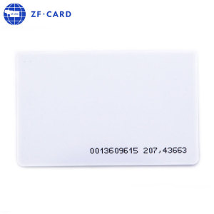 ISO Standard Size CR80 NFC Blank Card With Better Service