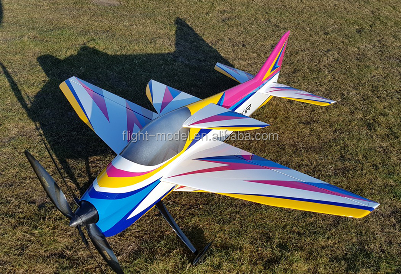 Elixir 170 F3A electric/gas composite rc F3A  170 Elixir