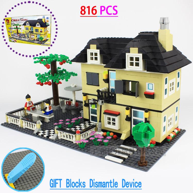 achetez en gros lego maison en ligne des grossistes lego maison chinois. Black Bedroom Furniture Sets. Home Design Ideas