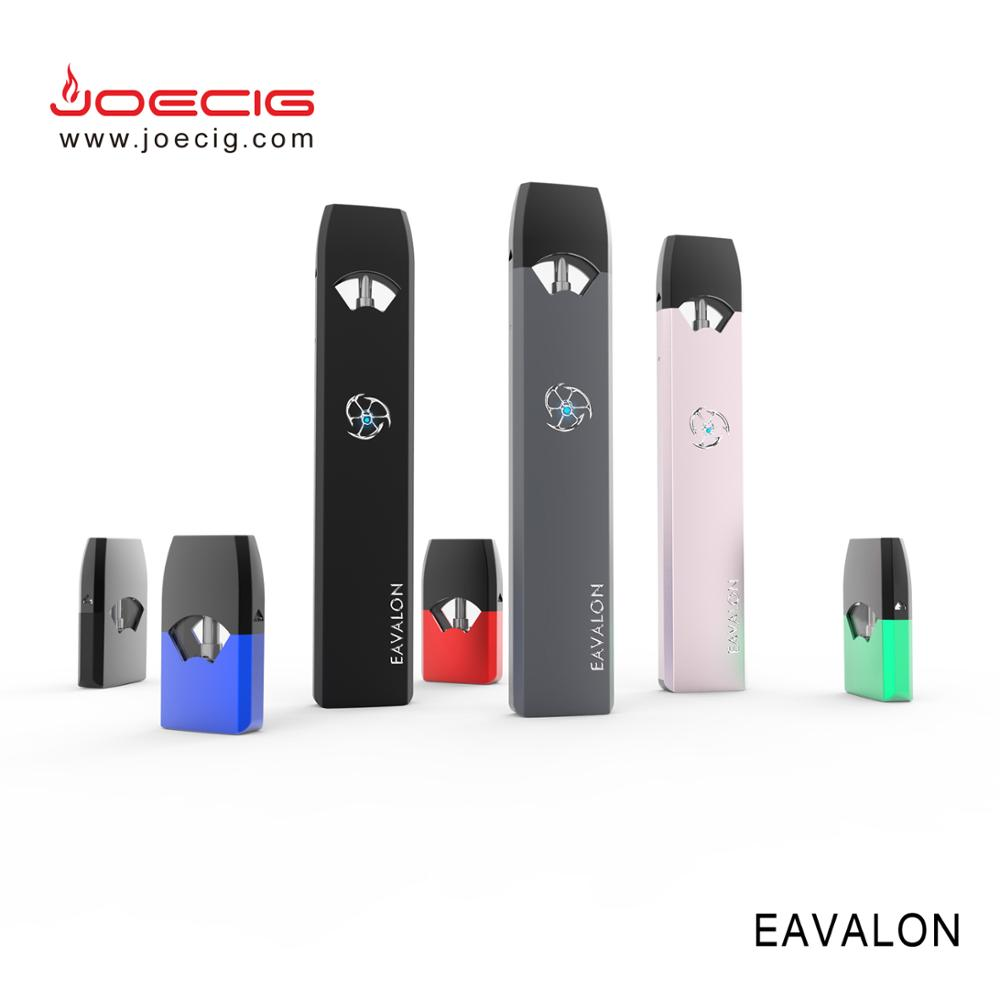 2018 New Trend Pod Style One piece disposable Closed System 0.8ml Cartridge e cig vape pod kit eavalon with four tastes