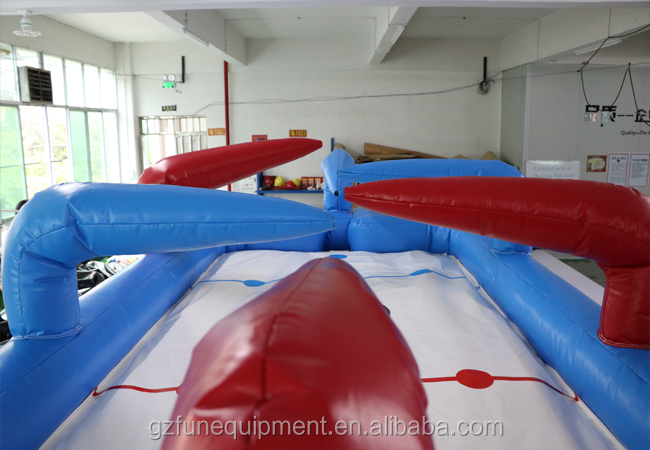 High quality commercial classic inflatable hockey stick carnival game hose hockey inflatable mini hockey rink for sale