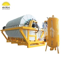Sewage filtration equipment for glass industry