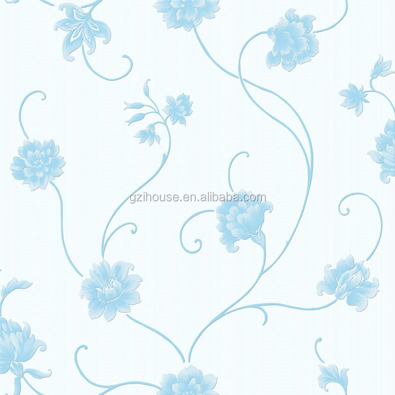 Ragazza decorazione della stanza con bel fiore camera da letto wallpapergirl&...