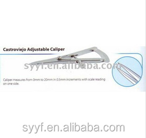 Castroviejo Adjustable Caliper