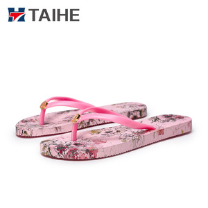 New style flat beach slippers for women beach girls flip flops